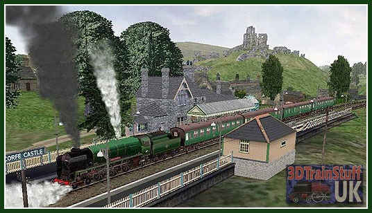 Trainsim Addons - The Swanage Route - an addon route for