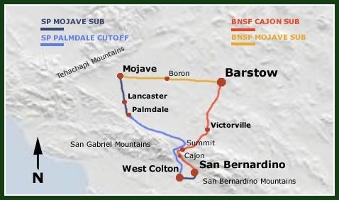 Train Sim Addons   The Cajon Pass Route   High Desert Rails