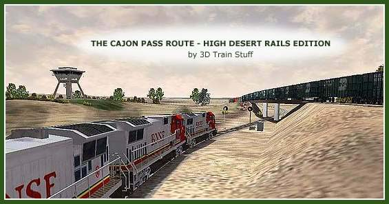 Train Sim Addons - The Cajon Pass Route - High Desert Rails